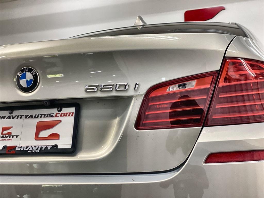 Used 2016 BMW 5 Series 550i for sale $34,888 at Gravity Autos Marietta in Marietta GA 30060 13