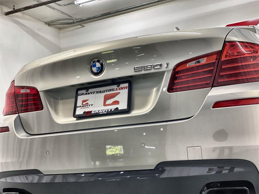 Used 2016 BMW 5 Series 550i for sale $34,888 at Gravity Autos Marietta in Marietta GA 30060 14