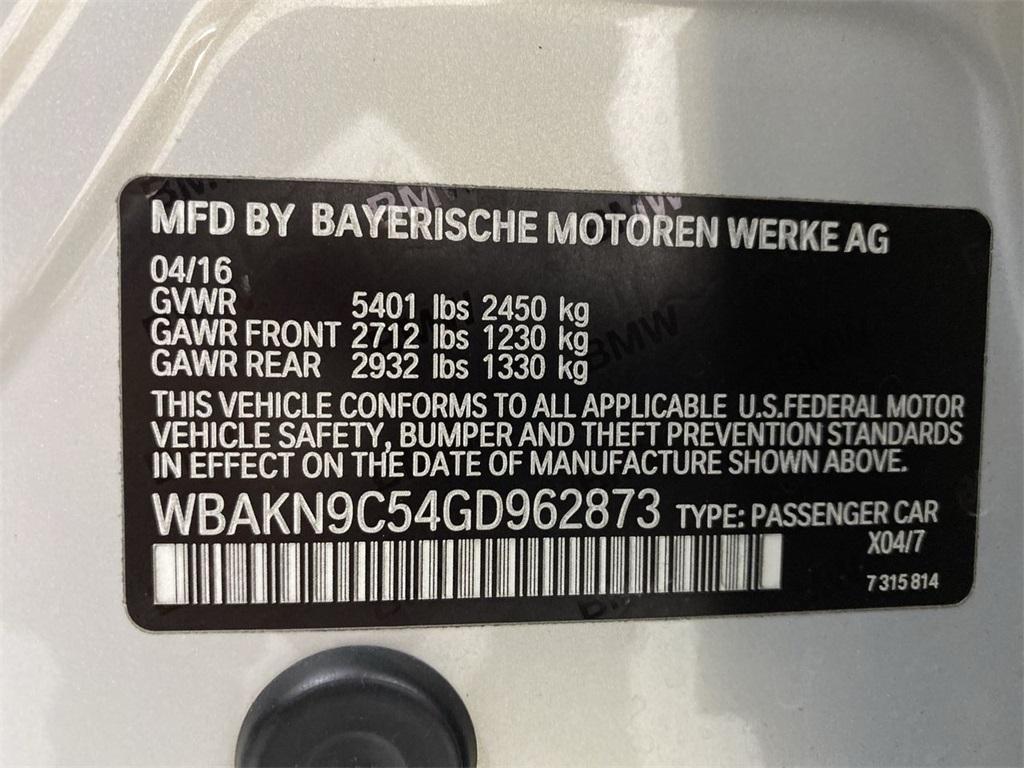 Used 2016 BMW 5 Series 550i for sale $34,888 at Gravity Autos Marietta in Marietta GA 30060 54