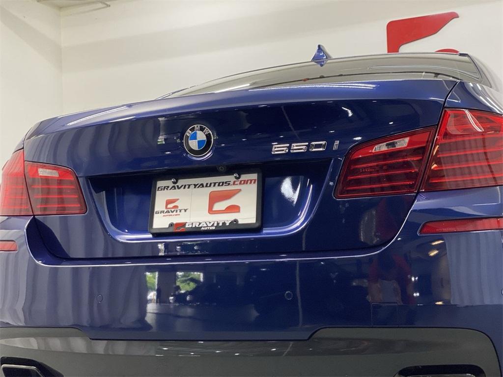 Used 2016 BMW 5 Series 550i for sale $32,855 at Gravity Autos Marietta in Marietta GA 30060 12