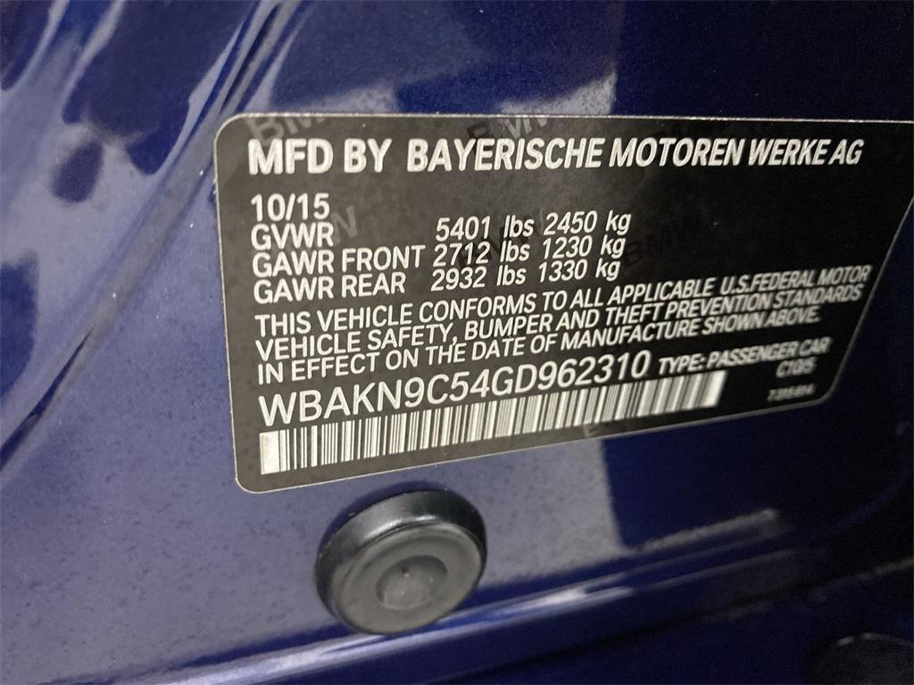 Used 2016 BMW 5 Series 550i for sale $32,855 at Gravity Autos Marietta in Marietta GA 30060 48