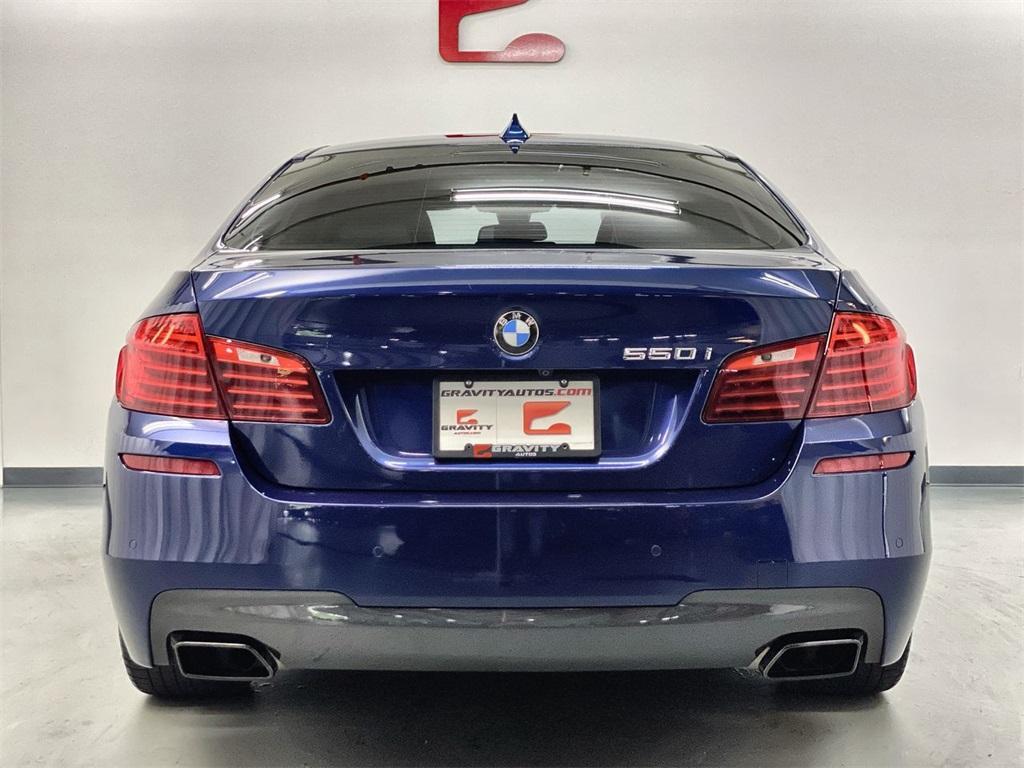Used 2016 BMW 5 Series 550i for sale $32,855 at Gravity Autos Marietta in Marietta GA 30060 8