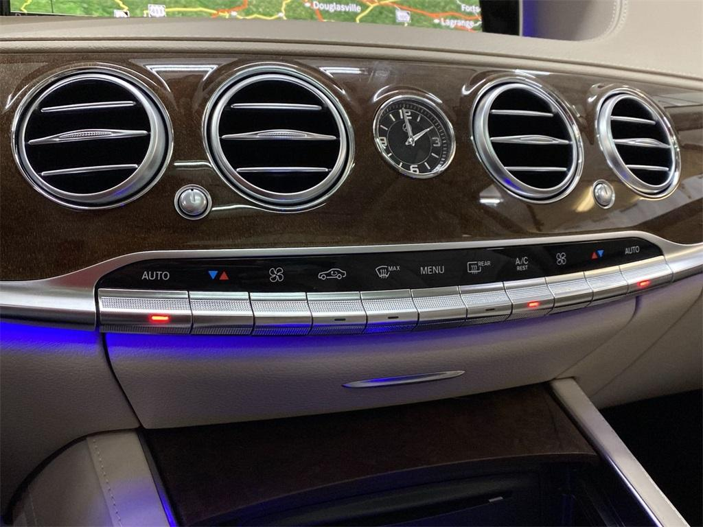 Used 2015 Mercedes-Benz S-Class S 550 for sale $45,888 at Gravity Autos Marietta in Marietta GA 30060 35