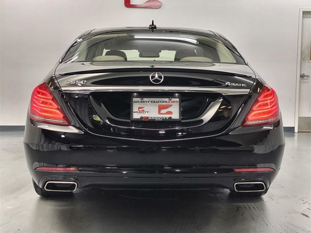 Used 2015 Mercedes-Benz S-Class S 550 for sale $45,888 at Gravity Autos Marietta in Marietta GA 30060 8