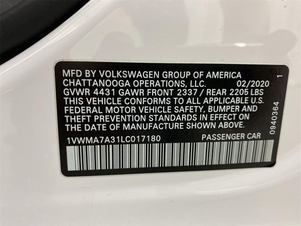 Used 2020 Volkswagen Passat 2.0T R-Line for sale $26,333 at Gravity Autos Marietta in Marietta GA 30060 43