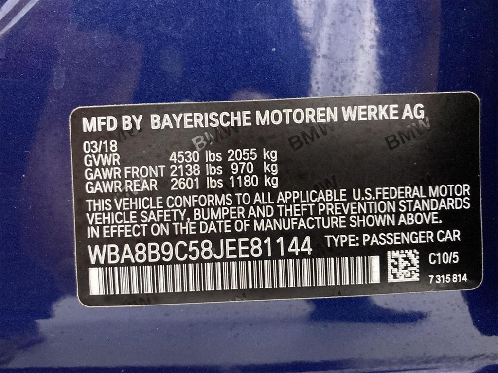 Used 2018 BMW 3 Series 330i for sale $25,988 at Gravity Autos Marietta in Marietta GA 30060 49