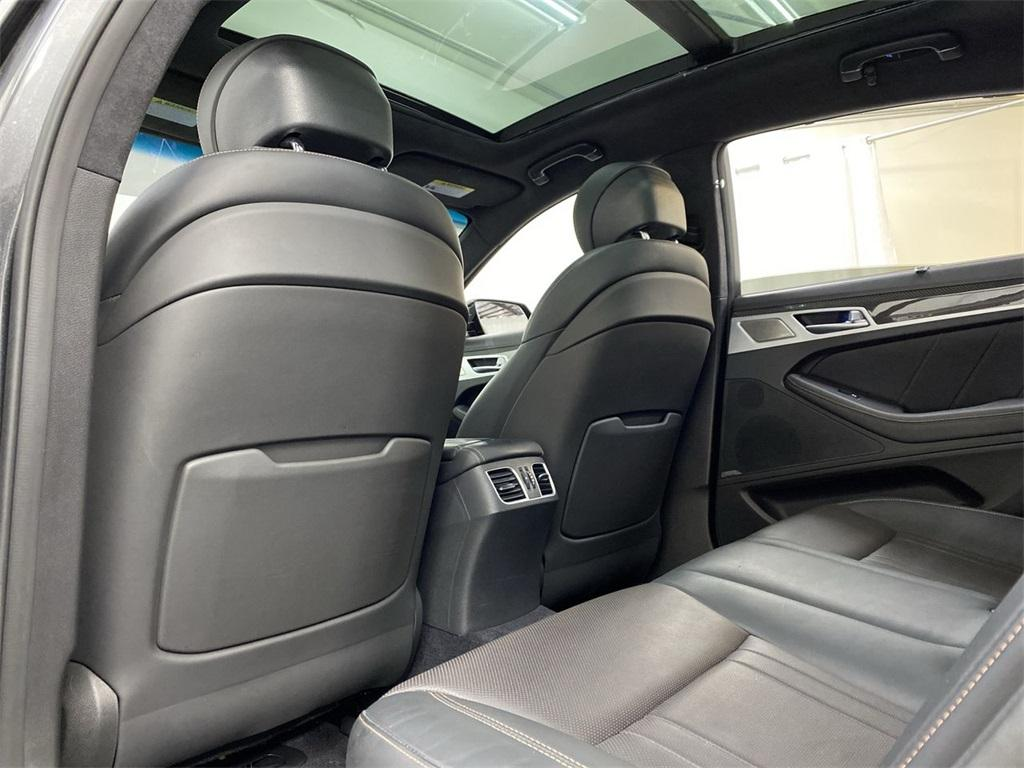 Used 2018 Genesis G80 3.3T Sport for sale $34,995 at Gravity Autos Marietta in Marietta GA 30060 43