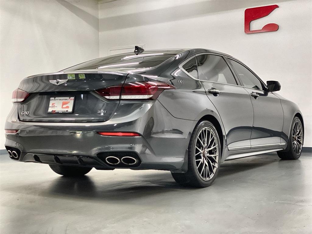 Used 2018 Genesis G80 3.3T Sport for sale $34,995 at Gravity Autos Marietta in Marietta GA 30060 7