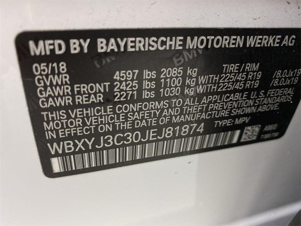Used 2018 BMW X2 sDrive28i for sale Sold at Gravity Autos Marietta in Marietta GA 30060 45