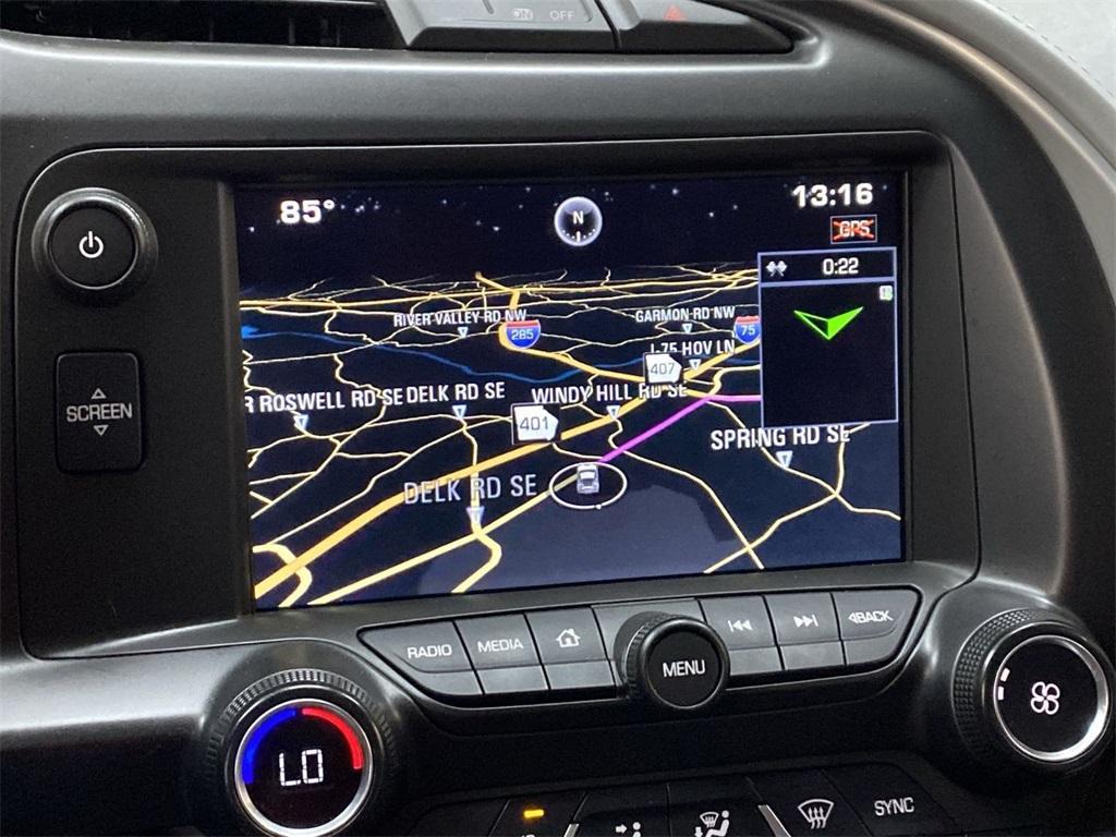 Used 2015 Chevrolet Corvette Stingray Z51 for sale $54,988 at Gravity Autos Marietta in Marietta GA 30060 34