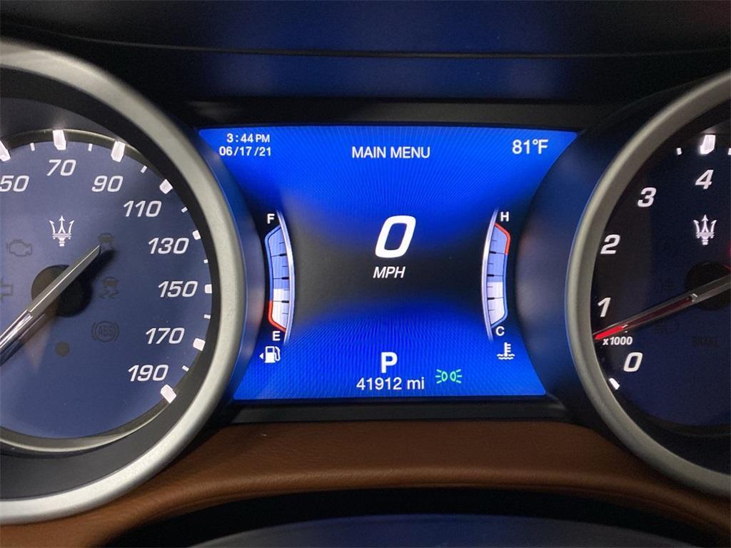 Used 2018 Maserati Ghibli S for sale $44,888 at Gravity Autos Marietta in Marietta GA 30060 28