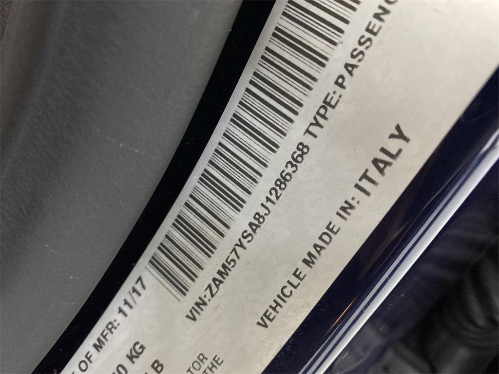 Used 2018 Maserati Ghibli S for sale $44,888 at Gravity Autos Marietta in Marietta GA 30060 48