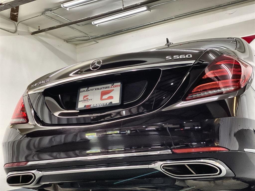 Used 2018 Mercedes-Benz S-Class Maybach S560 for sale $111,888 at Gravity Autos Marietta in Marietta GA 30060 14