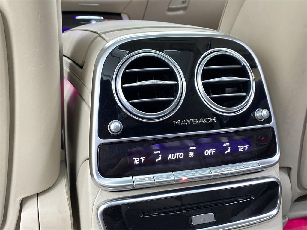 Used 2018 Mercedes-Benz S-Class Maybach S560 for sale $111,888 at Gravity Autos Marietta in Marietta GA 30060 52