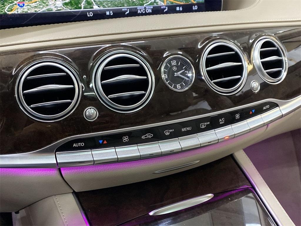 Used 2018 Mercedes-Benz S-Class S 450 for sale $59,888 at Gravity Autos Marietta in Marietta GA 30060 37