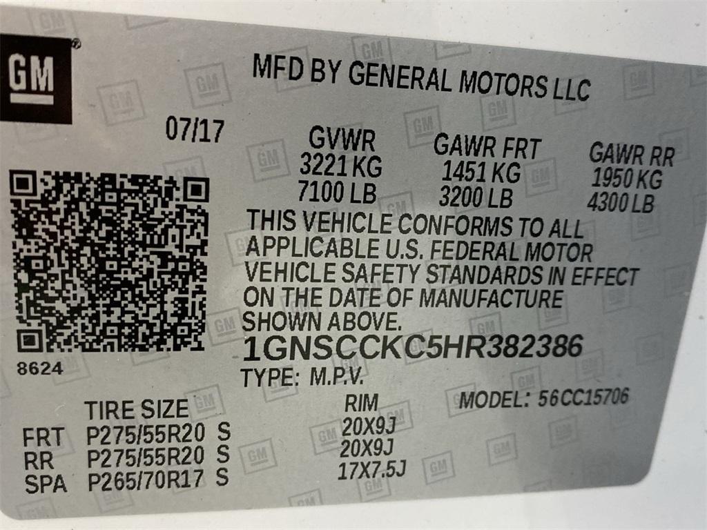 Used 2017 Chevrolet Tahoe Premier for sale $46,888 at Gravity Autos Marietta in Marietta GA 30060 49