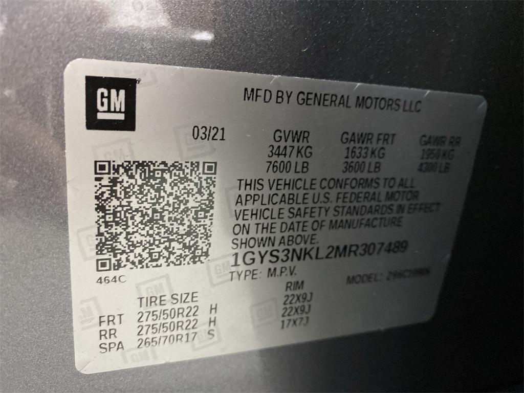 Used 2021 Cadillac Escalade ESV Sport for sale $107,777 at Gravity Autos Marietta in Marietta GA 30060 57