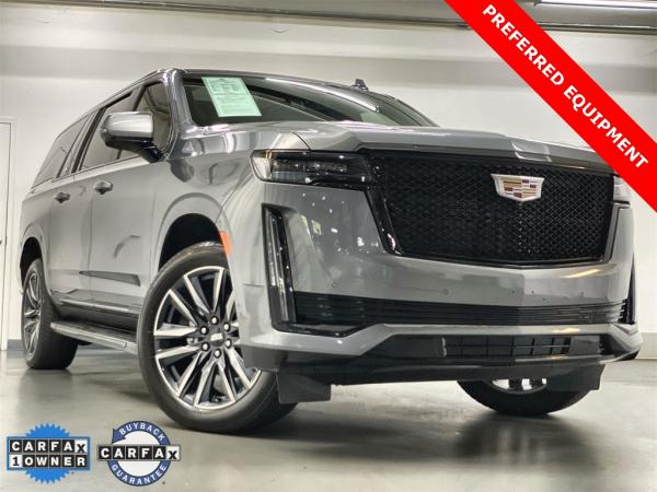 Used 2021 Cadillac Escalade ESV Sport for sale $107,777 at Gravity Autos Marietta in Marietta GA