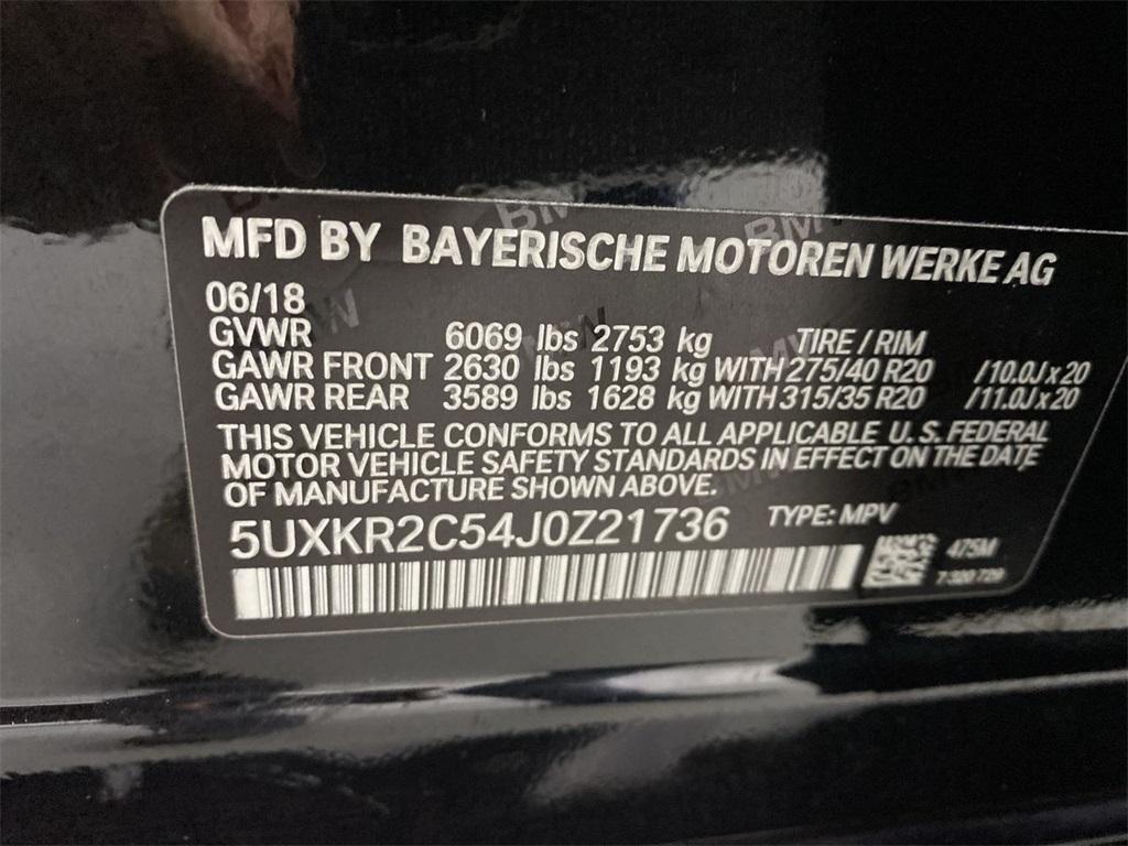Used 2018 BMW X5 sDrive35i for sale $41,998 at Gravity Autos Marietta in Marietta GA 30060 45