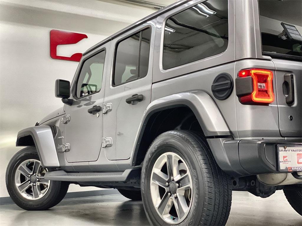 Used 2018 Jeep Wrangler Unlimited Sahara for sale $42,444 at Gravity Autos Marietta in Marietta GA 30060 11