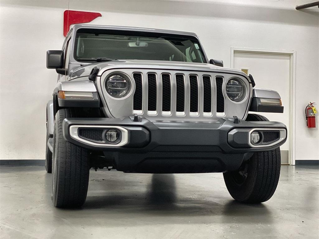 Used 2018 Jeep Wrangler Unlimited Sahara for sale $42,444 at Gravity Autos Marietta in Marietta GA 30060 3