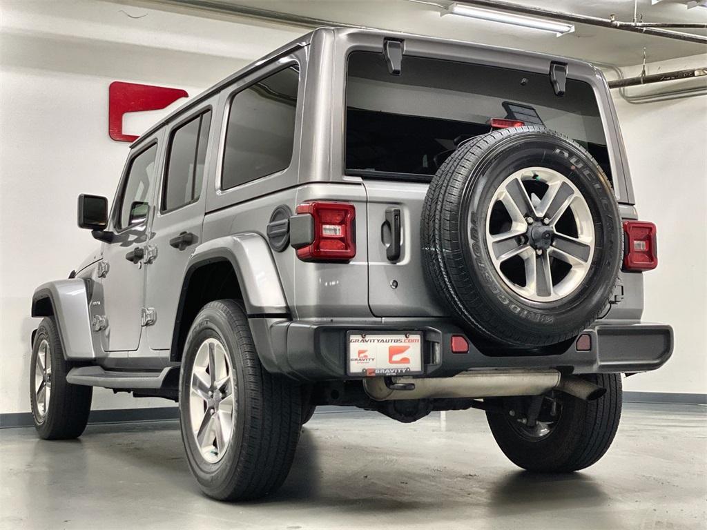 Used 2018 Jeep Wrangler Unlimited Sahara for sale $42,444 at Gravity Autos Marietta in Marietta GA 30060 6