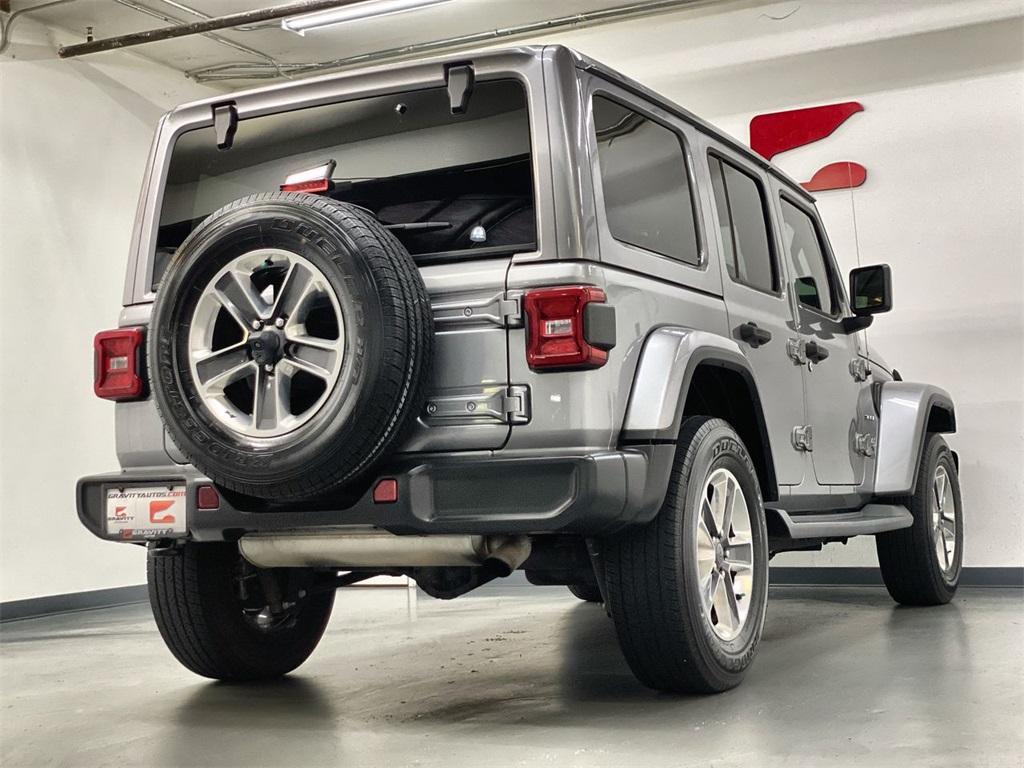 Used 2018 Jeep Wrangler Unlimited Sahara for sale $42,444 at Gravity Autos Marietta in Marietta GA 30060 7