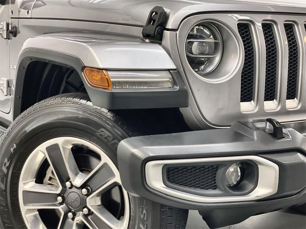 Used 2018 Jeep Wrangler Unlimited Sahara for sale $42,444 at Gravity Autos Marietta in Marietta GA 30060 8