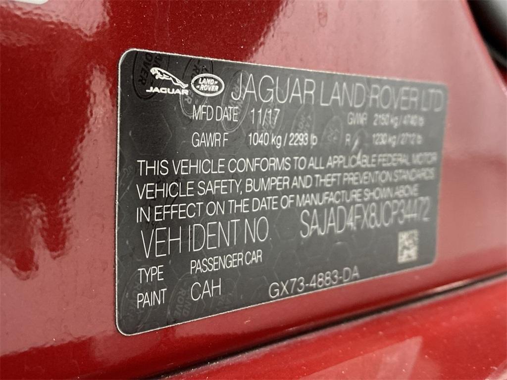 Used 2018 Jaguar XE 25t Premium for sale $27,998 at Gravity Autos Marietta in Marietta GA 30060 42