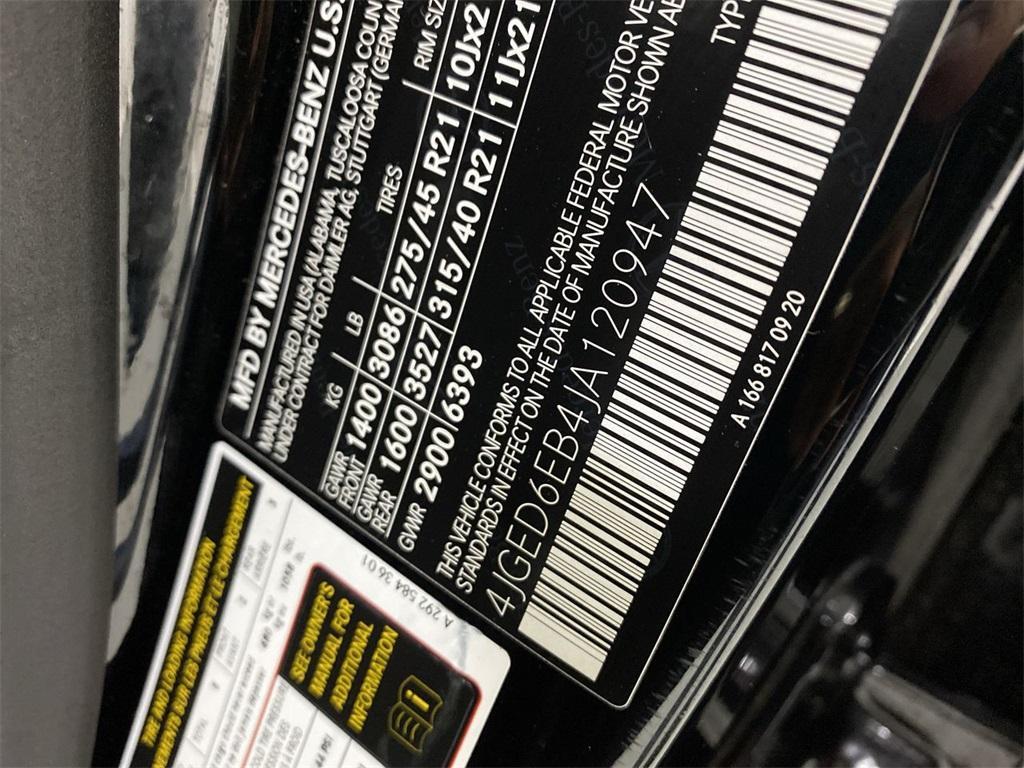 Used 2018 Mercedes-Benz GLE GLE 43 AMG Coupe for sale $67,777 at Gravity Autos Marietta in Marietta GA 30060 50