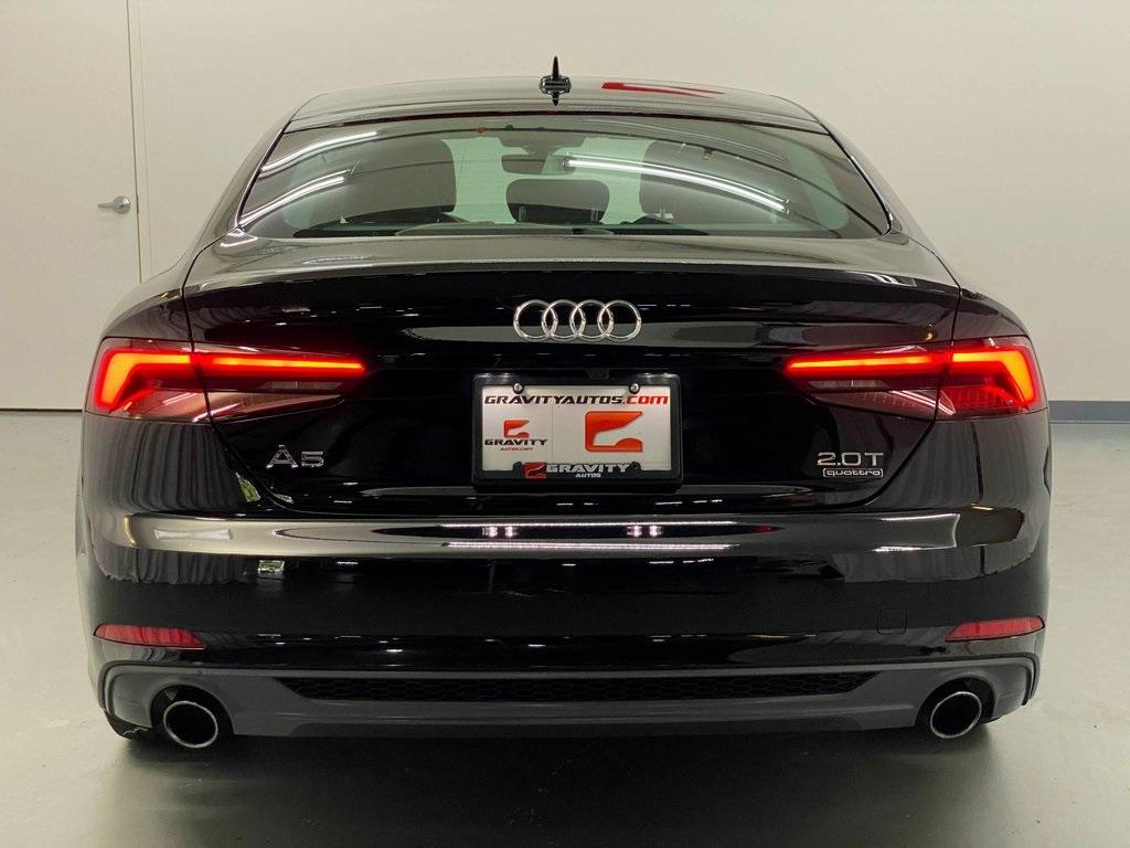 Used 2018 Audi A5 2.0T Premium for sale Sold at Gravity Autos Marietta in Marietta GA 30060 3