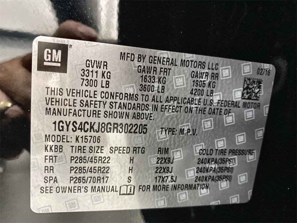 Used 2016 Cadillac Escalade Premium for sale $51,444 at Gravity Autos Marietta in Marietta GA 30060 52