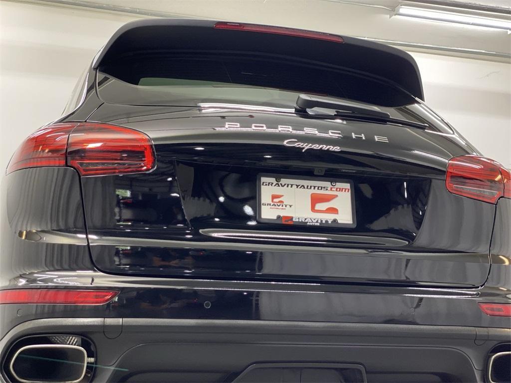Used 2017 Porsche Cayenne Platinum Edition for sale $46,888 at Gravity Autos Marietta in Marietta GA 30060 10