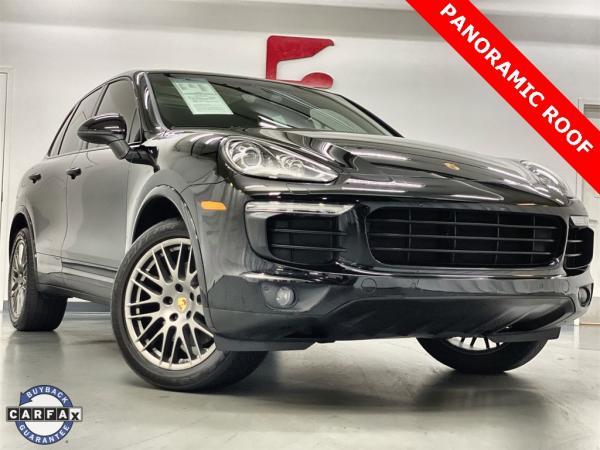 Used 2017 Porsche Cayenne Platinum Edition for sale $46,888 at Gravity Autos Marietta in Marietta GA