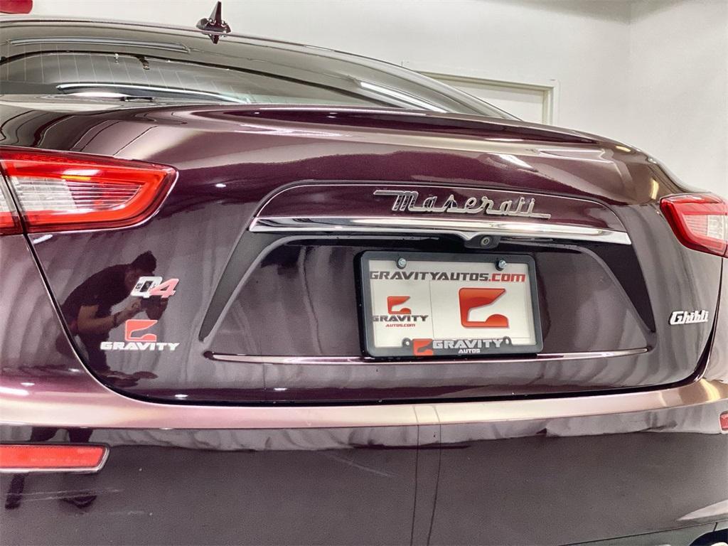 Used 2017 Maserati Ghibli Base for sale Sold at Gravity Autos Marietta in Marietta GA 30060 10