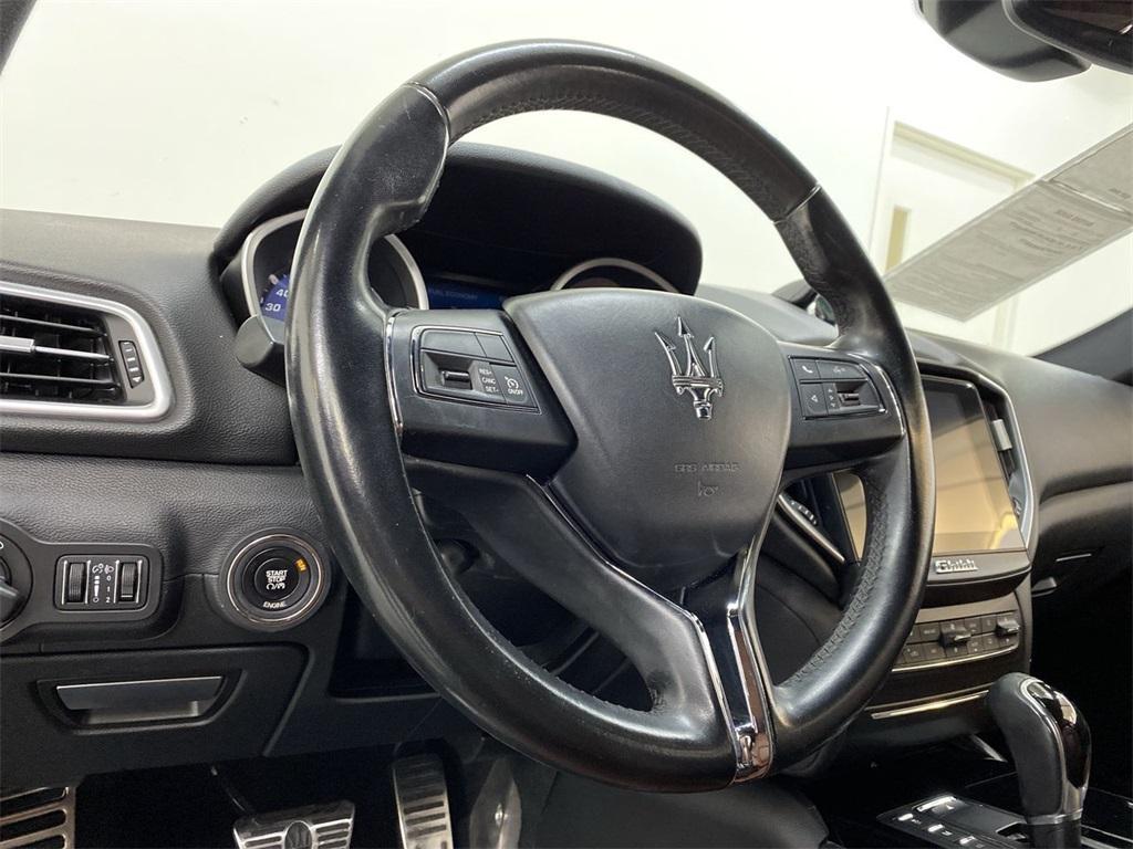 Used 2017 Maserati Ghibli Base for sale Sold at Gravity Autos Marietta in Marietta GA 30060 21