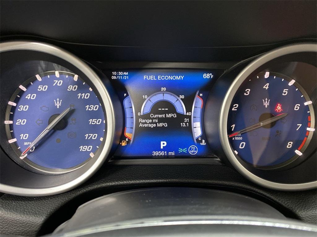 Used 2017 Maserati Ghibli Base for sale Sold at Gravity Autos Marietta in Marietta GA 30060 24