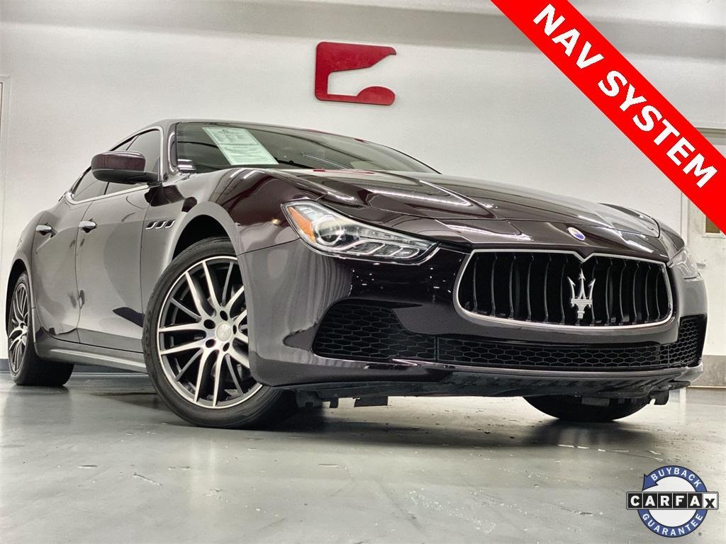 Used 2017 Maserati Ghibli Base for sale Sold at Gravity Autos Marietta in Marietta GA 30060 1