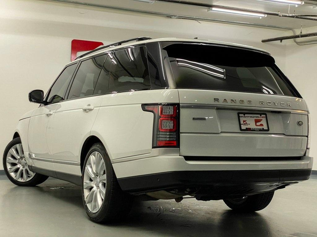 Used 2016 Land Rover Range Rover 5.0L V8 Supercharged for sale Sold at Gravity Autos Marietta in Marietta GA 30060 13
