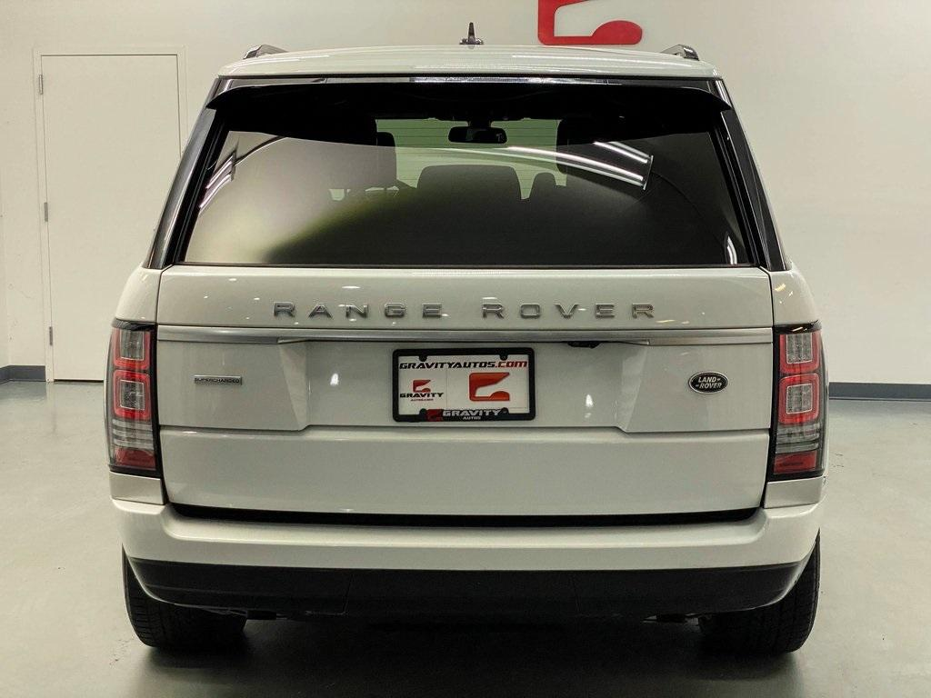 Used 2016 Land Rover Range Rover 5.0L V8 Supercharged for sale Sold at Gravity Autos Marietta in Marietta GA 30060 3