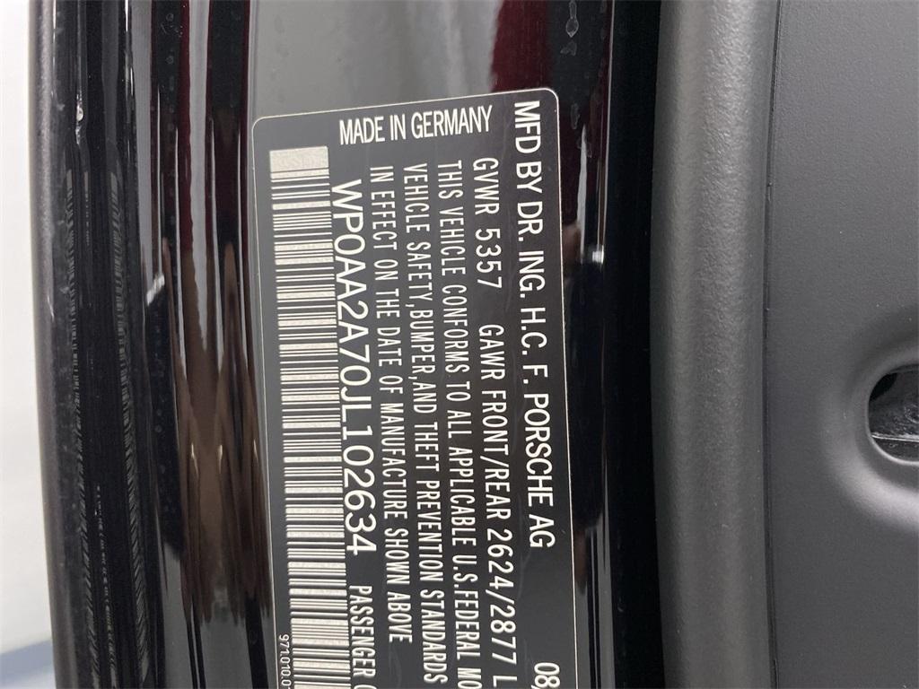 Used 2018 Porsche Panamera 4 for sale $72,888 at Gravity Autos Marietta in Marietta GA 30060 54