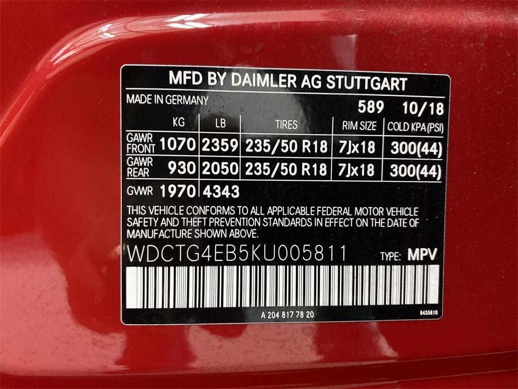 Used 2019 Mercedes-Benz GLA GLA 250 for sale Sold at Gravity Autos Marietta in Marietta GA 30060 42