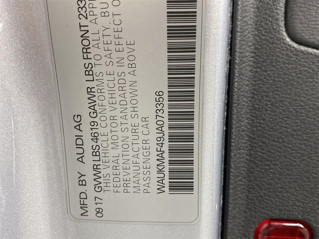 Used 2018 Audi A4 2.0T ultra Premium for sale $28,444 at Gravity Autos Marietta in Marietta GA 30060 43