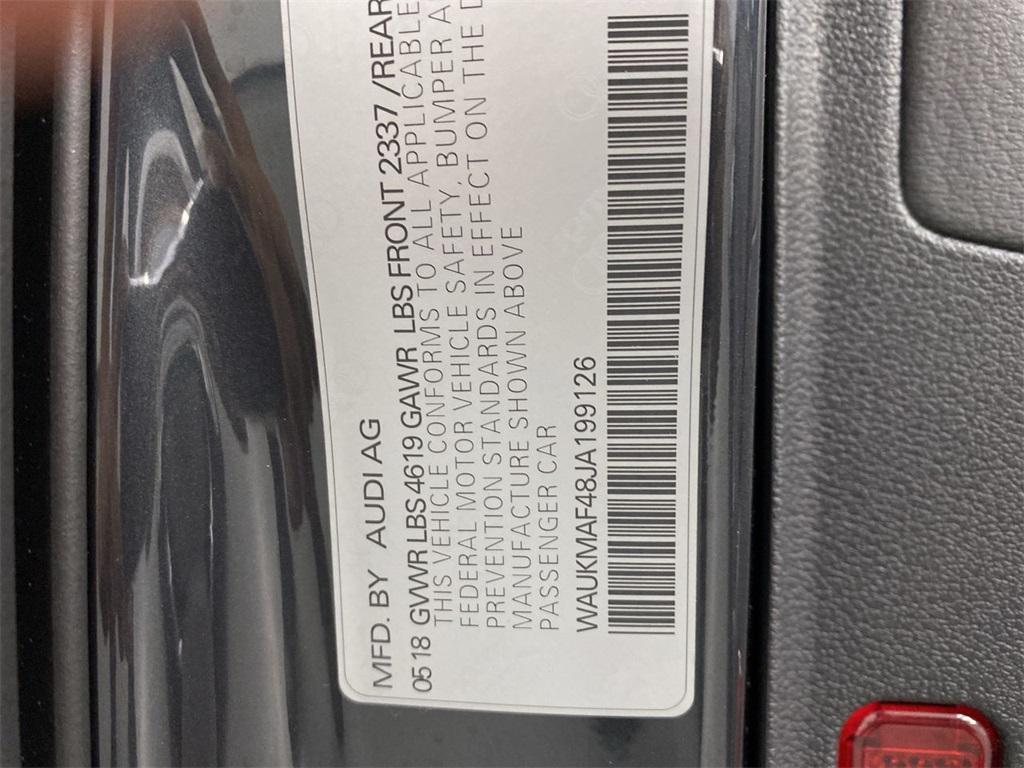 Used 2018 Audi A4 2.0T ultra Premium for sale $29,444 at Gravity Autos Marietta in Marietta GA 30060 44