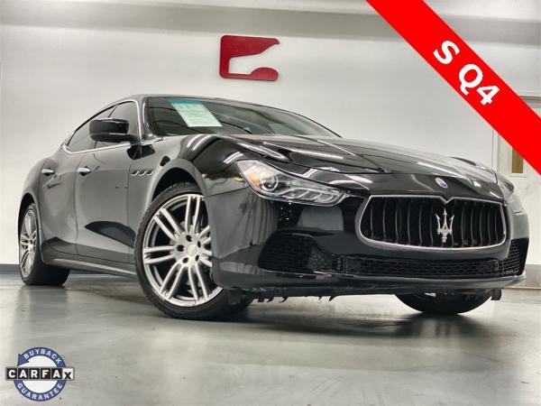 Used 2015 Maserati Ghibli S Q4 for sale $31,444 at Gravity Autos Marietta in Marietta GA