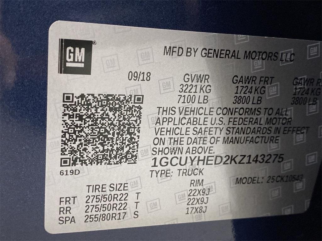 Used 2019 Chevrolet Silverado 1500 High Country for sale $54,998 at Gravity Autos Marietta in Marietta GA 30060 56