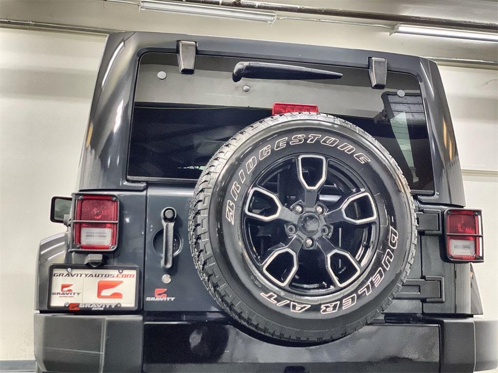 Used 2018 Jeep Wrangler JK Unlimited Sahara for sale $38,444 at Gravity Autos Marietta in Marietta GA 30060 10