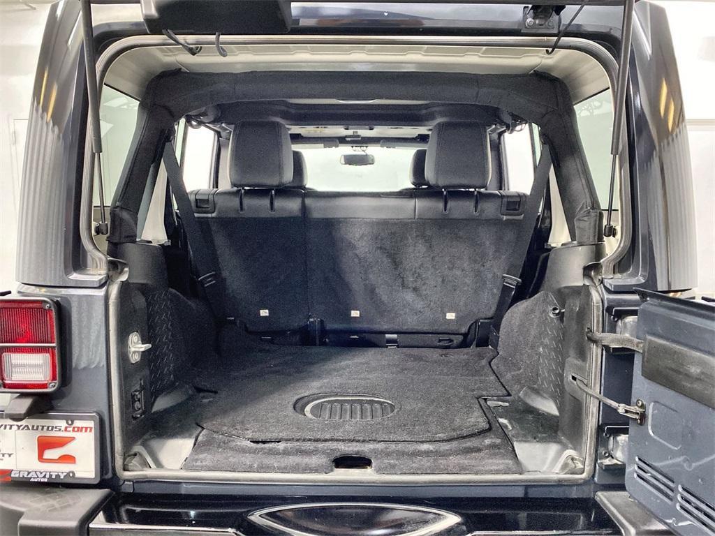 Used 2018 Jeep Wrangler JK Unlimited Sahara for sale $38,444 at Gravity Autos Marietta in Marietta GA 30060 40