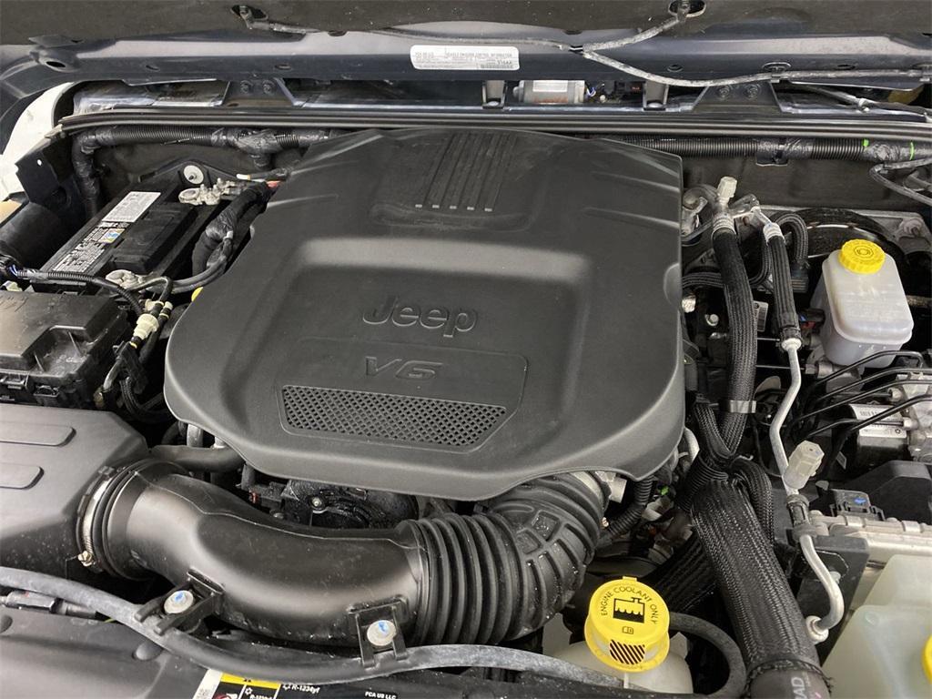 Used 2018 Jeep Wrangler JK Unlimited Sahara for sale $38,444 at Gravity Autos Marietta in Marietta GA 30060 42