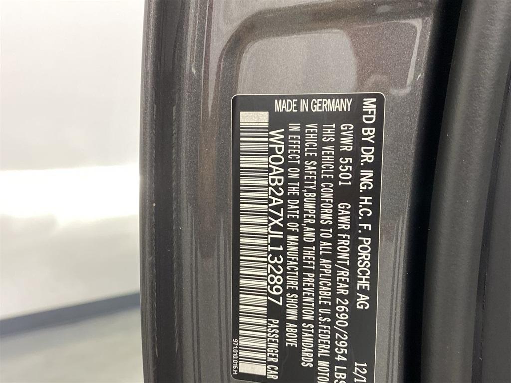 Used 2018 Porsche Panamera 4S for sale $90,794 at Gravity Autos Marietta in Marietta GA 30060 58